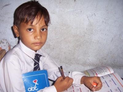 A Serious Scholar in Gujranwala Day School